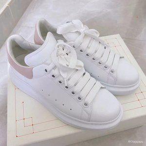 🍓Alexander McQueen🍓 pink tail women's board shoes